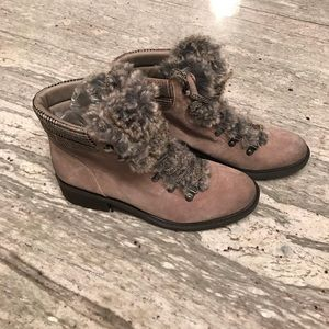 e23c8884a74e Sam Edelman Shoes - Sam Edelman Darrah 2 Faux Fur Trim Boot